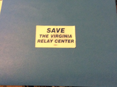 Save the Virginia Relay Center
